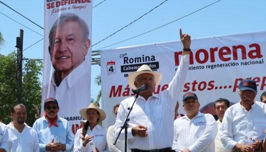 López Obrador convoca al PRD, PT y MC a aliarse contra el PRIAN