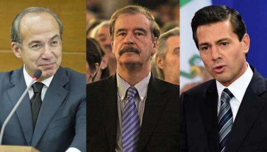 Fox, Calderón, Peña Nieto y sus nexos con el narcotráfico