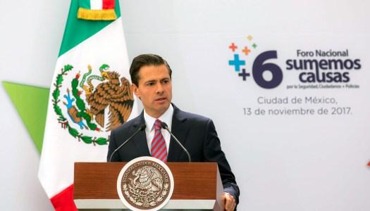 Lo critican todos y nada pasa; lo hacen sus aliados y Peña Nieto estalla