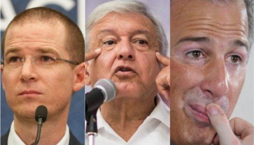 Lo que debes saber de AMLO, Meade y Anaya antes de la elección