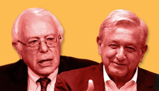 AMLO, más cerca de Bernie Sanders que de Trump