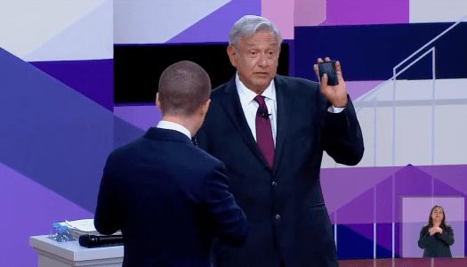 AMLO manda a la lona a Ricardo Anaya en el debate presidencial