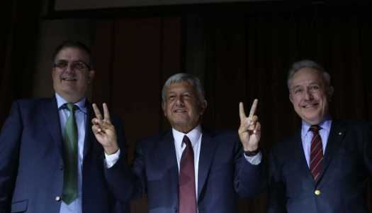 Marcelo Ebrard se integra al gabinete de AMLO; será el canciller