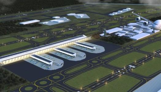 Así sería el Aeropuerto de Santa Lucía si lo construye AMLO