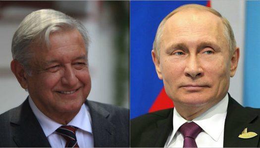 Se cumple la profecía del PRI: AMLO y Putin se reunirán
