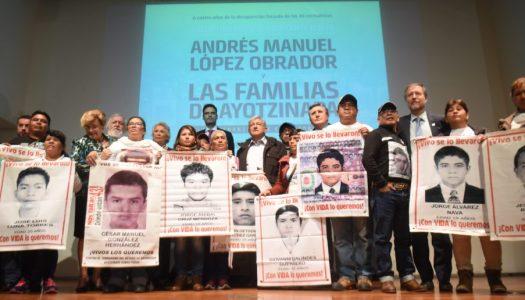 No debemos temer a conocer la verdad en el caso Ayotzinapa: AMLO