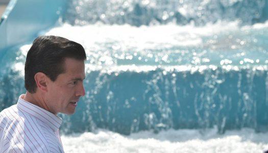 Peña Nieto quiere privatizar el agua antes de que llegue AMLO