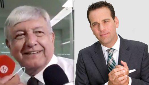 AMLO a Carlos Loret de Mola: Hay periodistas que mienten como respiran