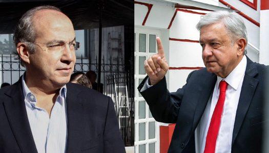 Calderón se jacta de no haber hecho fraude; AMLO asegura: hay pruebas