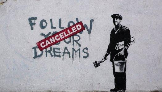 Banksy, y las calles como lienzo del arte disruptivo