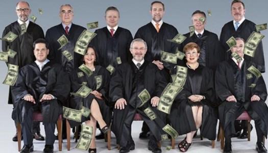 Ministros de la Corte ganan 349 veces más que el mexicano más pobre