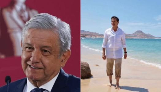 Gobierno pagaba a EPN casas de descanso en Acapulco y Cozumel: AMLO