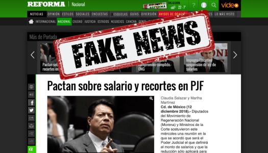 Reforma miente: diputados de Morena no pactaron con ministros de la Corte