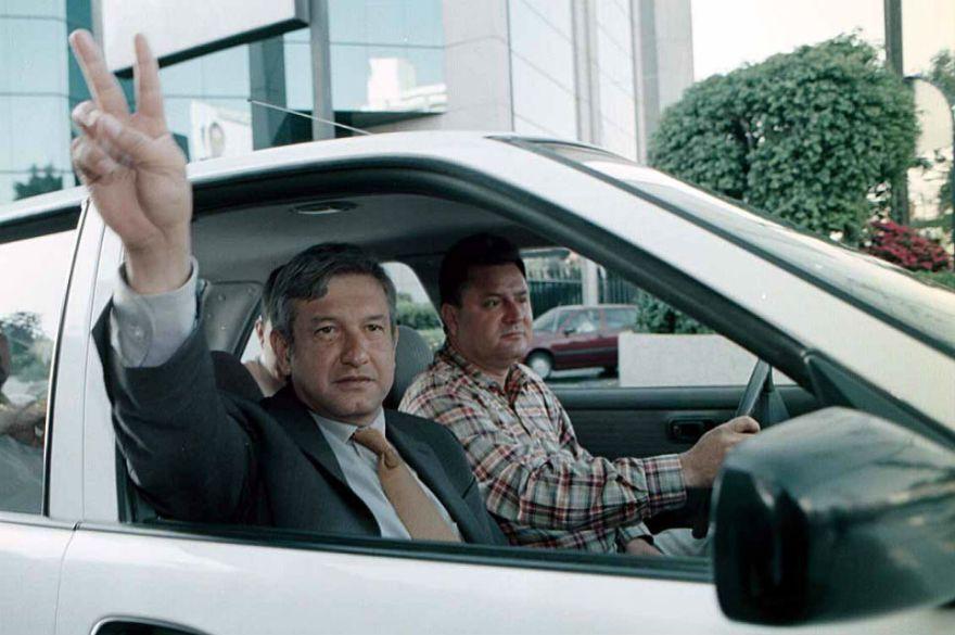 Andrés Manuel, cuando era jefe de gobierno de la Ciudad de México.