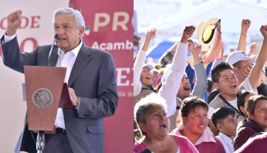 Ciudadanos apoyan la lucha de AMLO contra el huachicoleo: Parametría