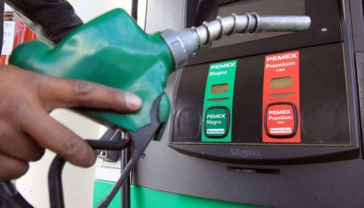 Sigue bajando gasolina en la frontera: cuesta litro hasta 11 pesos