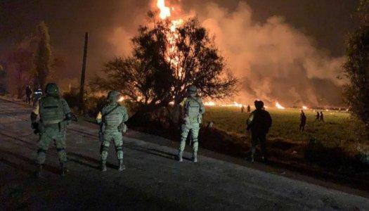 ¿Por qué el ejército no dispersó a las personas en Tlahuelilpan?