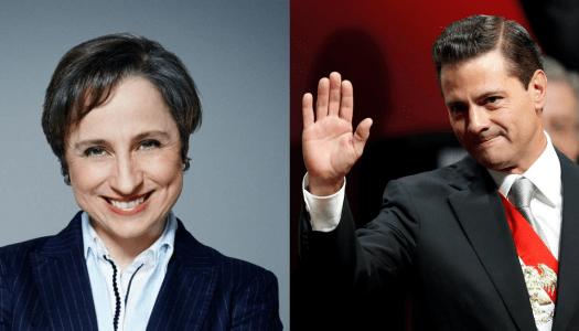 Despido de Aristegui le habría costado 6 mil millones a Peña Nieto