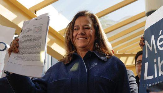 Margarita Zavala: la democracia está en riesgo en el gobierno de AMLO