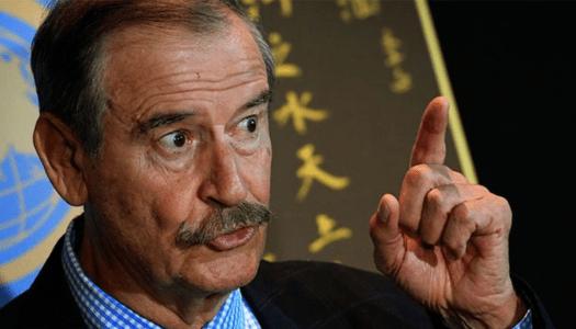 """Fox afirma que AMLO es el """"peor presidente que hemos tenido"""""""
