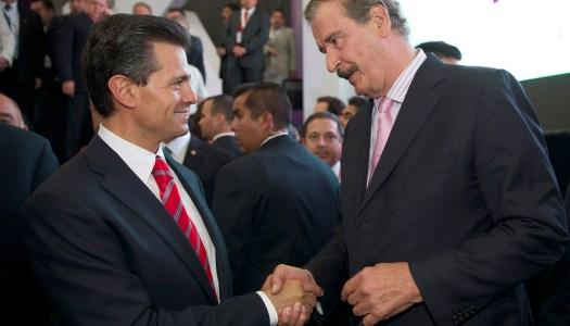 "Peña Nieto le pagó a Vicente Fox 39 millones por cursos de ""liderazgo"""