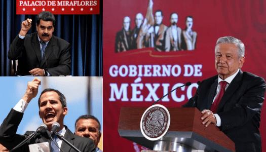 AMLO mantiene postura sobre Venezuela: no intervención