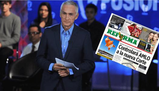 Después de armar show, Jorge Ramos vende suscripciones a Reforma