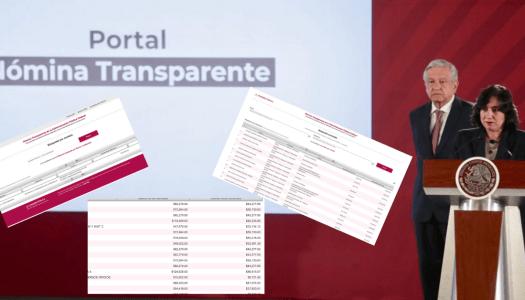 Aquí puedes saber cuánto ganan todos los funcionarios del gobierno de AMLO