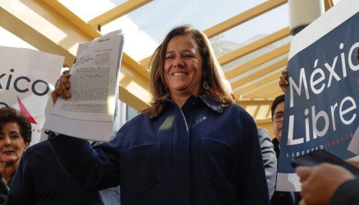 Le vuelven a bajar la multa a Margarita Zavala por simular credenciales