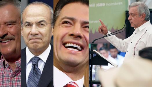 400 mil MDP condonaron Fox, Calderón y Peña a grandes empresarios. AMLO termina con esto