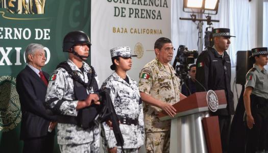 Guardia Nacional tiene ya resultados en 21 zonas del país, asegura Alfonso Durazo