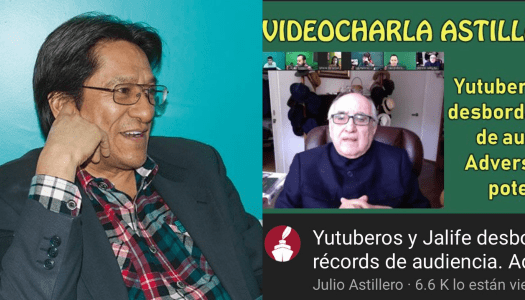 Youtube censura video de Julio Astillero sobre Jalife y los youtubers