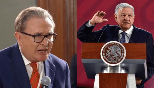 Ricardo Rocha le reclama a AMLO por meterlo en la lista de chayoteros