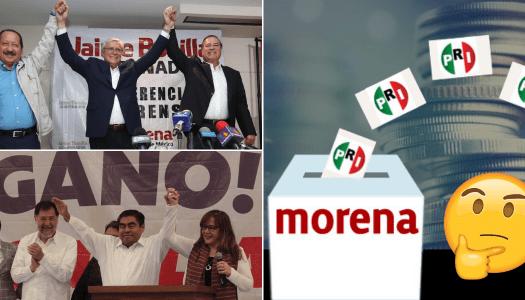 El poderío de Morena: ¿hacia un nuevo PRI?