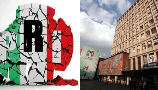 PRI se desmorona: pide crédito e hipoteca el edificio histórico de su sede