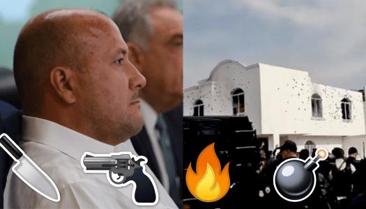 Jalisco en llamas y Enrique Alfaro paseando en Chicago