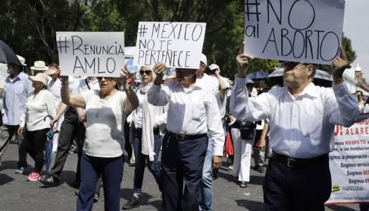 Las marchas de quienes odian a AMLO porque es AMLO
