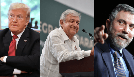 """Trump presume """"victoria"""" sobre México y Nobel Paul Krugman le pone una arrastrada"""