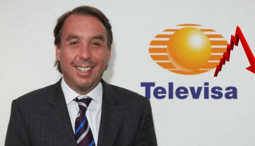 Televisa ha perdido casi 9 mil millones de pesos durante la pandemia