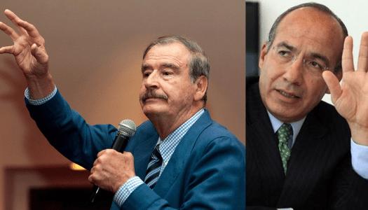 Vicente Fox no paga sus impuestos; y Calderón lo defiende