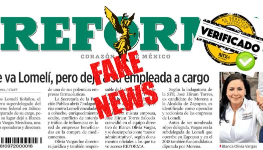 Verificado de Notimex le calla la boca a Reforma y evidencia que mintió