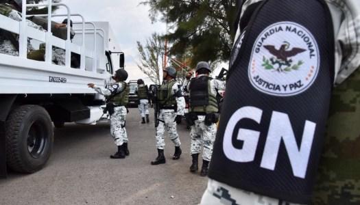 Guardia Nacional da sus primeros golpes contra el crimen organizado