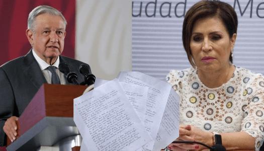 Rosario Robles clama justicia mediante carta a AMLO; aduce venganza