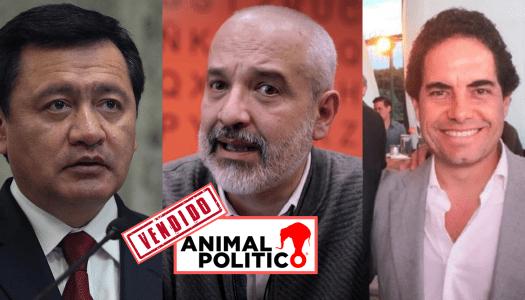 Nuevo dueño de Animal Político, ligado al PRI de Osorio Chong