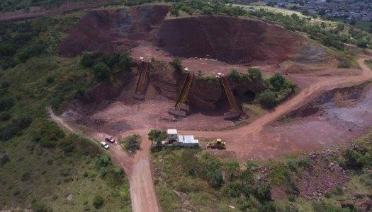 Minas cerca del extinto NAIM en Texcoco operaban de manera ilegal