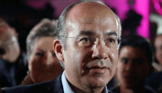 Calderón no aguanta repudio de miles; cancela su conferencia en el TEC