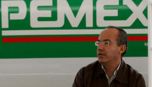 Calderón fue el máximo saqueador de Pemex en los últimos 42 años