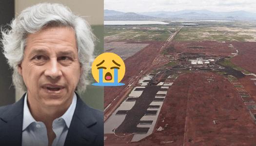 """Claudio X. González, derrotado, afirma que """"seguirá luchando"""" por el NAIM"""