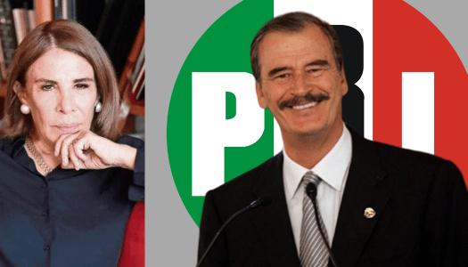 Sabina Berman da detalles del día que Vicente Fox se vendió al PRI