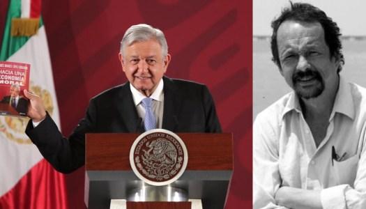 AMLO dedica su nuevo libro a Jaime Avilés, director fundador de Polemón